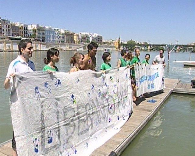 Big Jump En El Río Guadalquivir