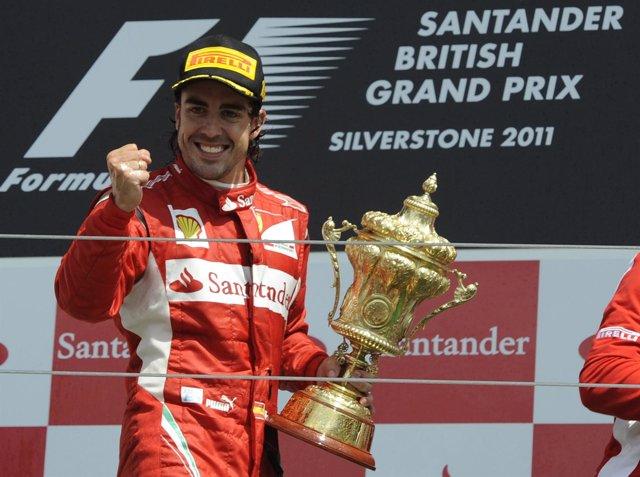 Fernando Alonso Vence En Silverstone