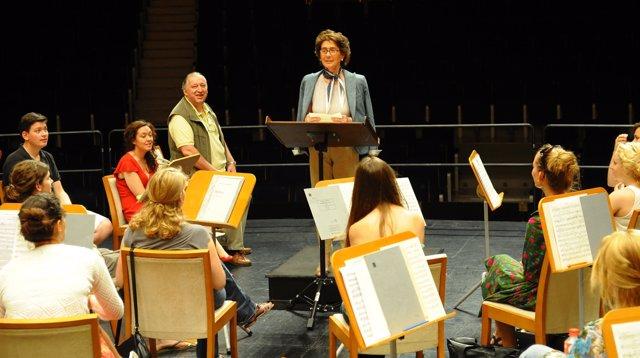 Ensayo Orquesta Freixenet Para El Encuentro De Música Y Academia