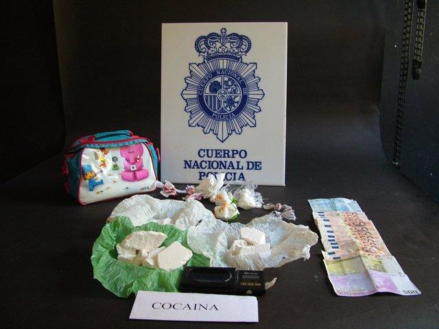 Droga, Material Y Dinero Incautado