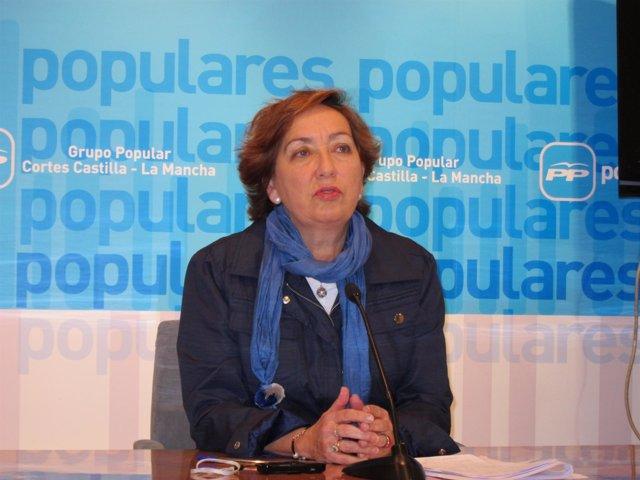 La diputada regional del PP María Luisa Soriano