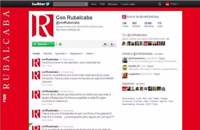 Twitter Rubalcaba