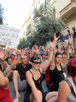 Manifestación De Los 'Indginados' En Palma.