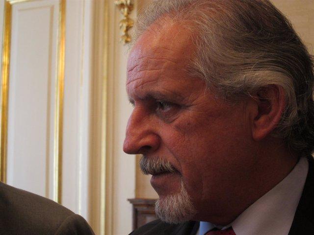 El Delegado Del Gobierno En Galicia, Miguel Cortizo.