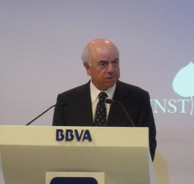 Francisco González, Presidente BBVA