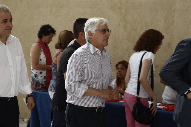 El Ex Presidente De La Junta De Castilla-La Mancha, José María Barreda