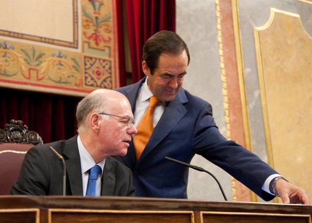 El Presidente Del Parlamento Federal De Alemania Visita El Congreso