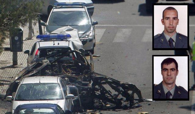Montaje atentado en Mallorca y dos víctimas