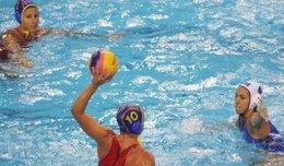 Selección Española Femenina De Waterpolo En El Mundial De Shanghai