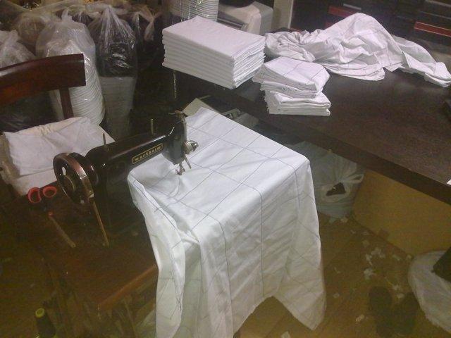 Máquina De Coser Intervenida (Operación Contra El Top Manta)