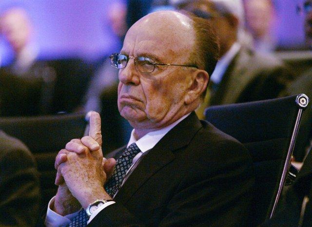 Rupert Murdoch, presidente del conglomerado News Corporation