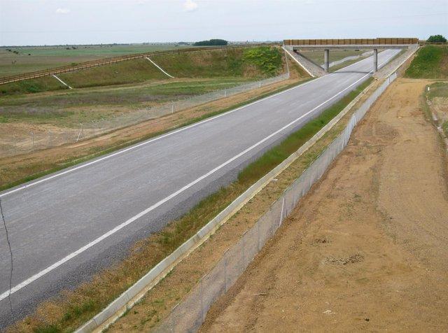 Vía De Alta Velocidad En La Provincia De Palencia