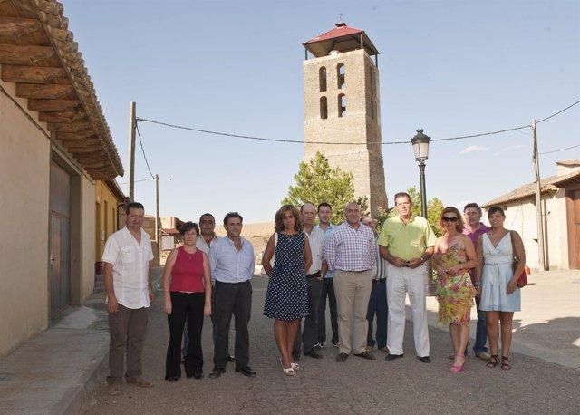 Visita De Jesús Julio Carnero A Gordaliza De La Loma Y Bustillo De Chaves