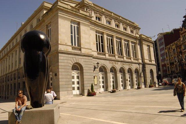 Teatro Campoamor en Oviedo
