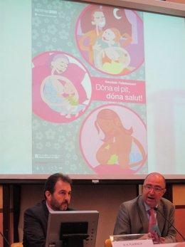 Antoni Plasència Y Francesc Sancho, De La Conselleria De Salud De La Generalitat