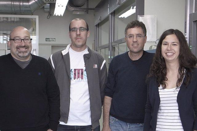 Investigadores Del Ciqus De La Universidade De Santiago.