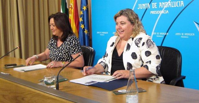 Mar Moreno Y Clara Aguilera, este martes