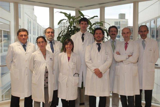 Equipo Médico De La Clínica Universidad De Navarra.