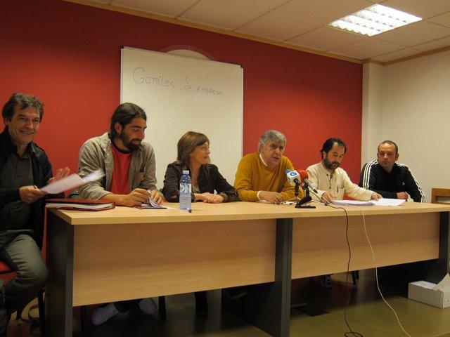 Rueda De Prensa De Los Comités De Limpieza Del CHUS