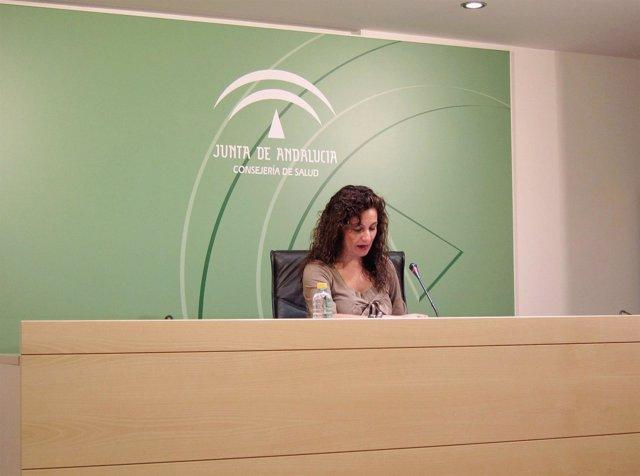 La Consejera Andaluza De Salud, María Jesús Montero, Durante Su Comparecencia