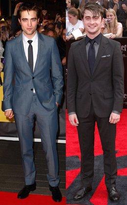 Montaje De Robert Pattinson Y Daniel Radcliffe