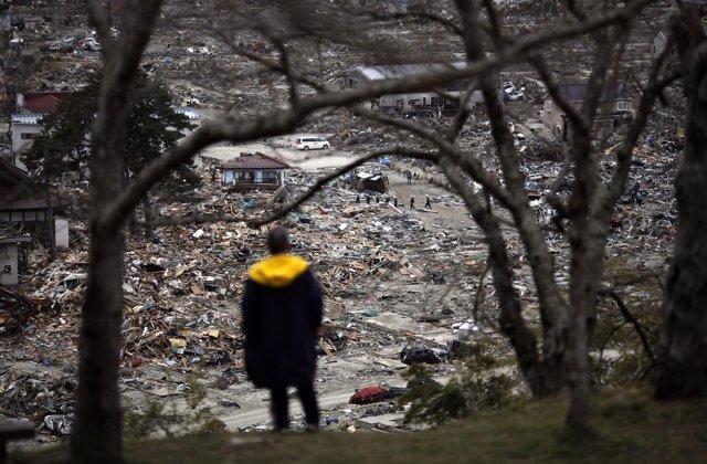 Imagen de los destrozos en Japón tras crisis en Fukushima