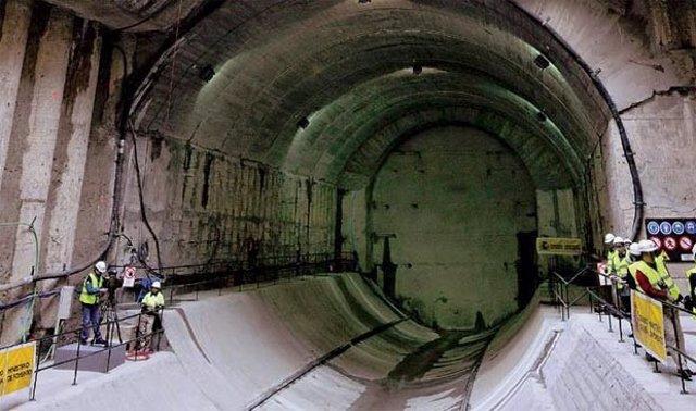 Construcción Del Túnel Del AVE Entre Atocha Y Chamartín