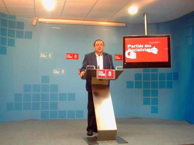 Miguel Ángel Fernández (Psdeg) En Rueda De Prensa