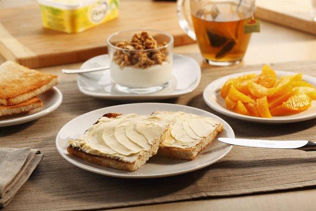 Desayuno Saludable, Dieta Mediterránea, Alimentos, Comida