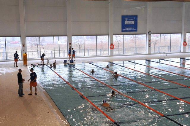 Polideportivo piscina municipal de Madrid