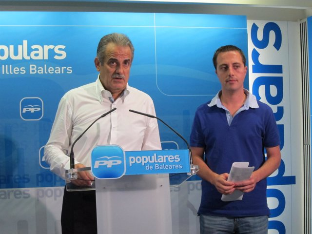 Miquel Ramis Y Llorenç Galmés