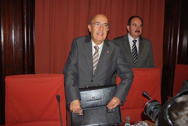 Boi Ruiz, En La Comparecencia