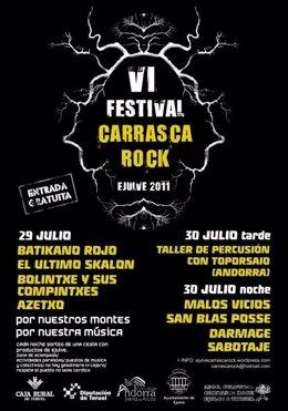 Cartel Del Festival Carrasca Rock 2011