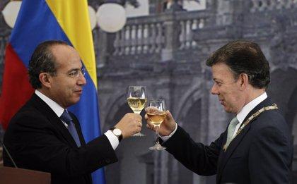 Santos y Calderón impulsan la lucha bilateral contra el narcotráfico