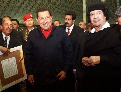 Venezuela/Libia.- Gadafi agradece a Chávez su apoyo al pueblo libio y se rechazo a las acciones de la OTAN