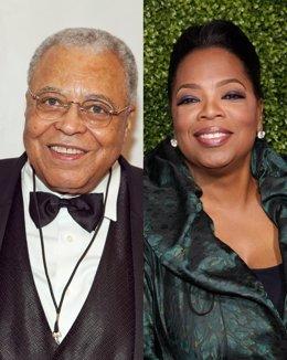 James Earl Jones Y Oprah Winfrey