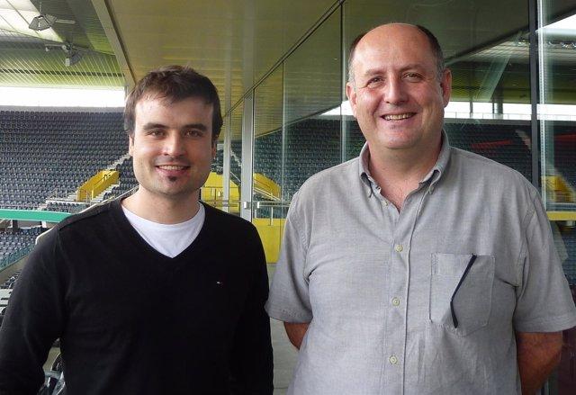 Alfredo Martínez Y Antoni Rosell, Investigadores De La UAB