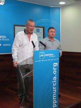 Ruiz Vivo y Juan SOria