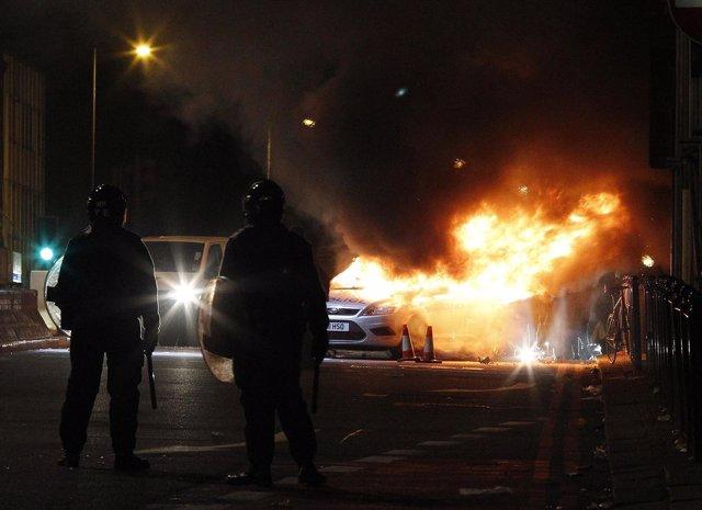 Disturbios En Tottenham (Londres)