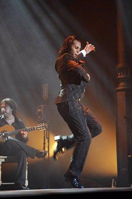 Farruquito En Su Actuación En El Festival Del Cante De Las Minas