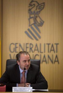 El Conseller De Justicia Y Bienestar Social, Jorge Cabré