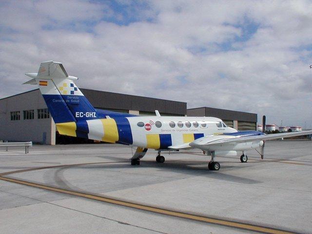 Avión Medicalizado Del Servicio De Urgencias Canario (SUC)