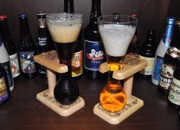 Cerveza Negra Y Cerveza Rubia