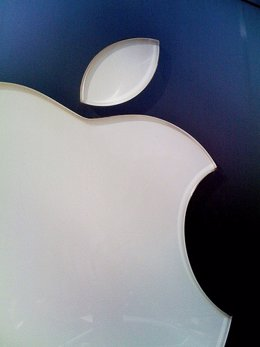 Apple Logo Por Kimbert CC Flickr