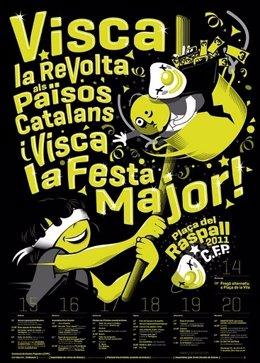 Festes Alternatives De Gràcia, Cartell