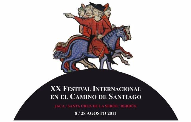 Cartel Del XX Festival Internacional Del Camino De Santiago