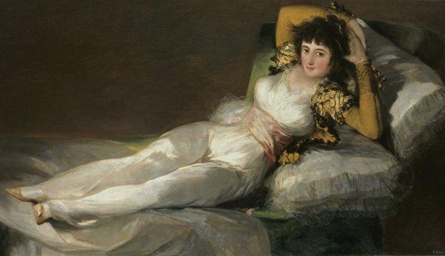 'Maja Vestida', De Goya