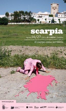 Cartel De La X Edición De Scarpia