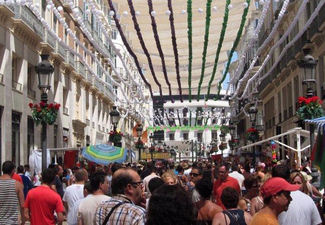 Imagen De La Feria Del Centro De Málaga