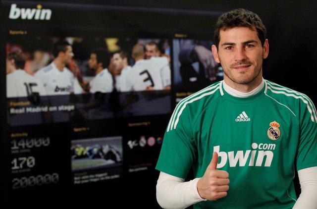 Iker Casillas en bwin